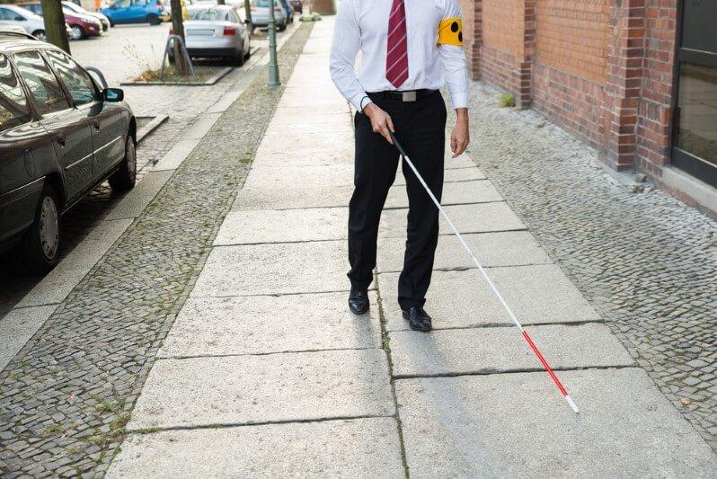זכויות לסובלים מעיוורון